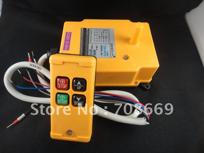 HS-Hoist Trasmettitore telecomando paranco elettrico di Trasmissione e la ricezione di unHS-Hoist Trasmettitore telecomando paranco elettrico di Trasmissione e la ricezione di un