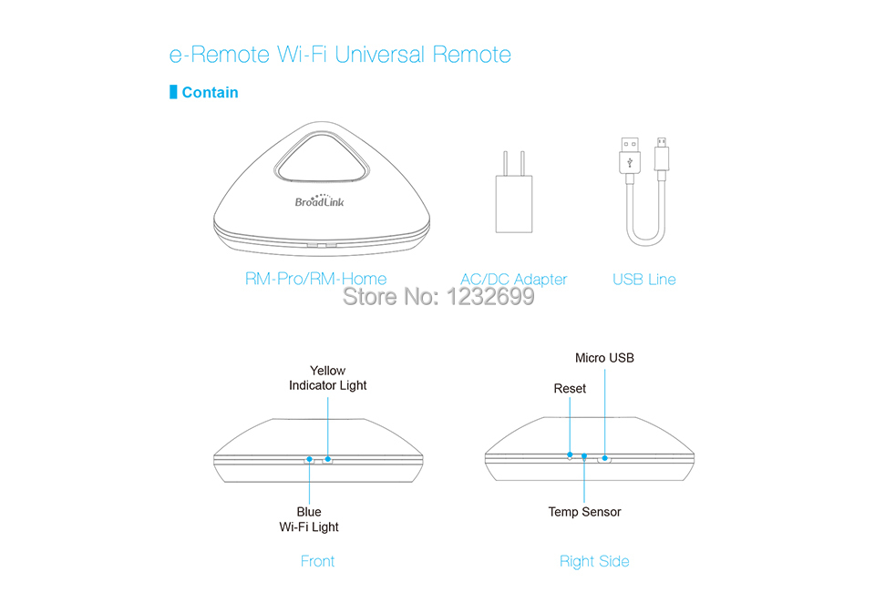 2017 Broadlink RM03 RM PRO Uniwersalny Inteligentny Pilot Smart Home Automation WiFi + IR + RF Przełącznik Poprzez IOS Android Telefon 25