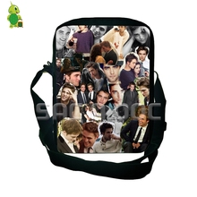 Popular Twilight Robert Pattinson Collage Mini Messenger Bags Men Women  Crossbody Handbag Purses Boys Girls Travel 15254e870cfe