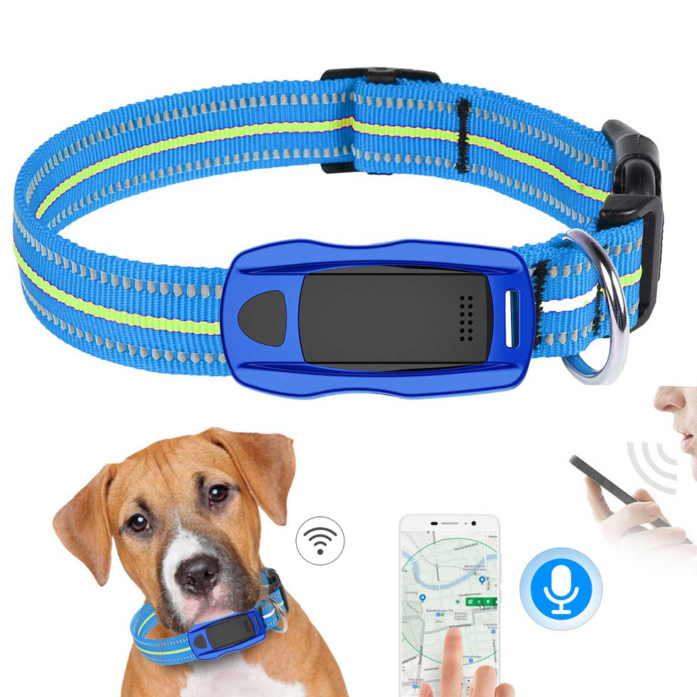 Wifi GPS Tracker Dog GPS LBS pet LED locator GSM Waterproof For Pets Dogs Tracking anti lost Remote photo SOS Remote flashlight-in GPS Trackers from Home & Garden    1