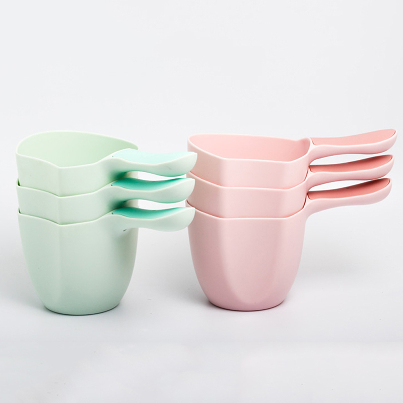 Plastic Milk Powder Scoop Baby Water Scoop Baby Shampoo Bath Spoon Child Wash Hair Rinse Cup Kids Bath Waterfall Mini Cup