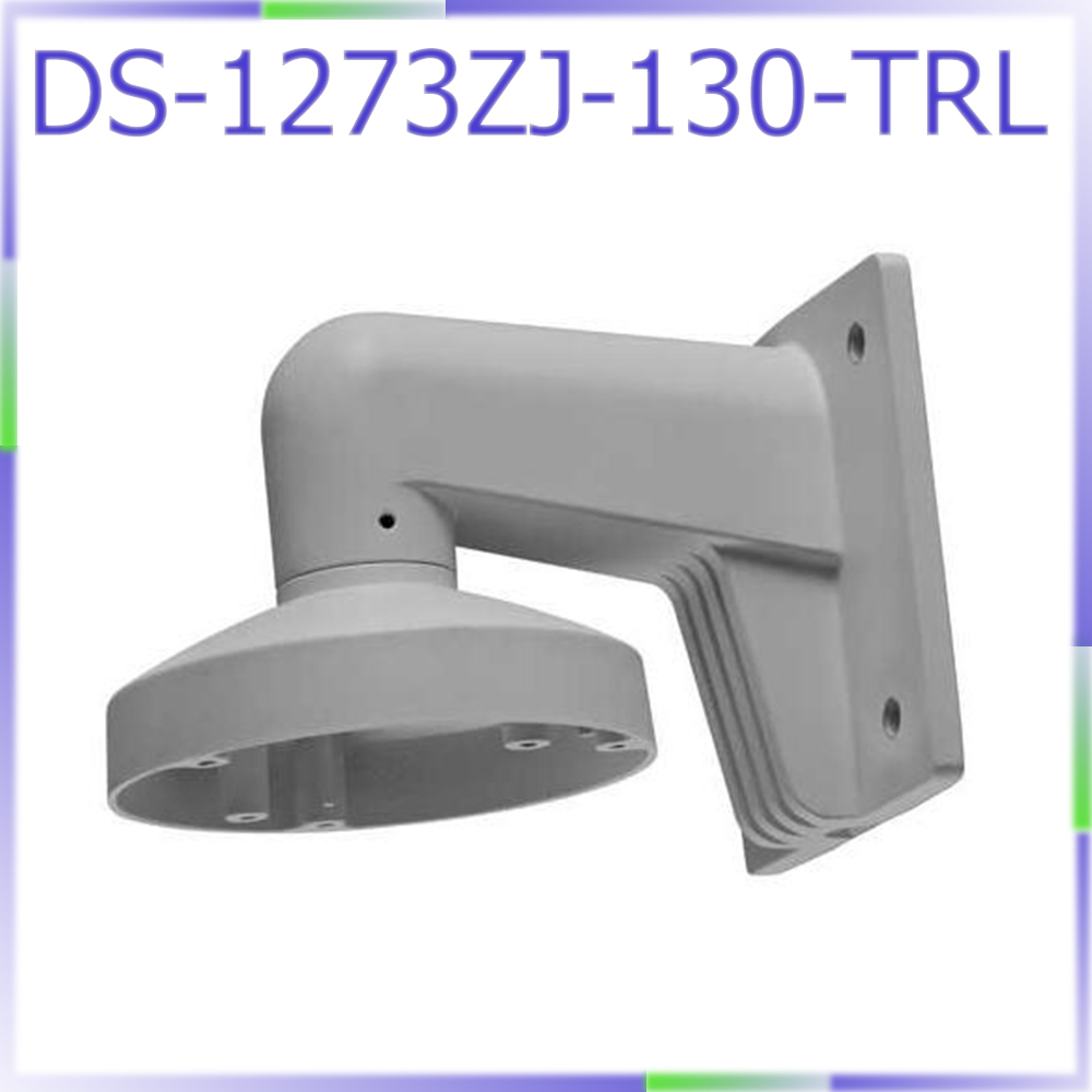 free shipping CCTV camera wall mount bracket DS-1273ZJ-130-TRL for DS-2CD2332-I DS-2CD2335-I DS-2CD2342WD-I cctv bracket ds 1212zj indoor outdoor wall mount bracket suit for bullet camera s bracket ip camera bracket