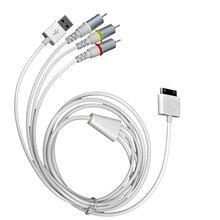 Высокое качество USB Dock Connector для ТВ RCA Видео Композитный AV-КАБЕЛЬ кабель-Адаптер для Apple iPad 2 3 для iPhone 3GS/4/4S/iPod VHK63 P72