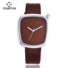 New high-end ladies watch Europe and United States pop star women's watch personality fashion men and women quartz watch TEMPTER