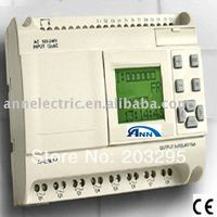 Mini PLC AF 20MR D2 with HMI,12 24VDC,12 points DC input 8 points (with analog input) relay output
