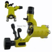 Professional New Dragonfly Rotary Tattoo Machine Gun with RCA Hoop Yellow Sun for Shader& Liner  Rotary Tattoo Machine Motor Gun