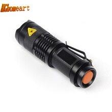 HGhomeart Mini Flash Waterproof LED flashlight Q5 3W 250LM A