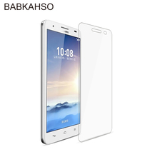 2.5D 9H Tempered Glass for Huawei Honor 3X G750 Screen Protector g 750 film Protective Cover with Clean Kits