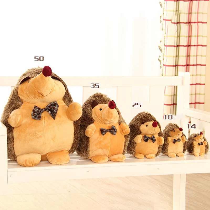 18-50 เซนติเมตรน่ารัก Lovely Hedgehog สัตว์ตุ๊กตา Plush ตุ๊กตาของเล่นเด็กบ้านของเล่นสำหรับเด็กของขวัญเด็ก