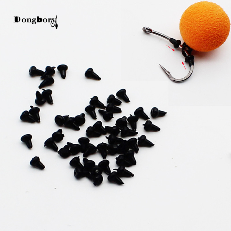 Rig Hook Stop Chod-Beads Fishing-Accessories Pop-Up Carp Hair-Rig 50PCS Ronnie Shank
