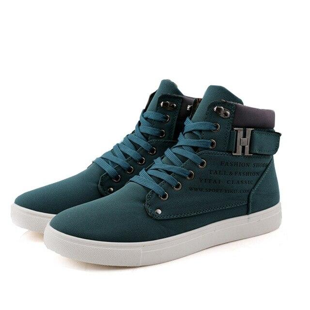2662afec0c7 Nova Agradável Pop Homens Sapatos Sapatos Tenis masculino Masculino Outono  Inverno Botas Para Homem Casual De