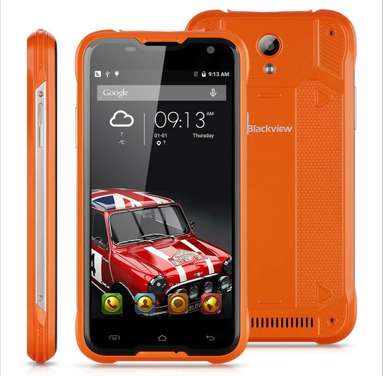 "bilder für Original Blackview BV5000 4G LTE wasserdichte MTK6735 5 ""HD Quad Core Android 5.1 mobile Handy 2 GB RAM 16 GB ROM 13MP Kamera"