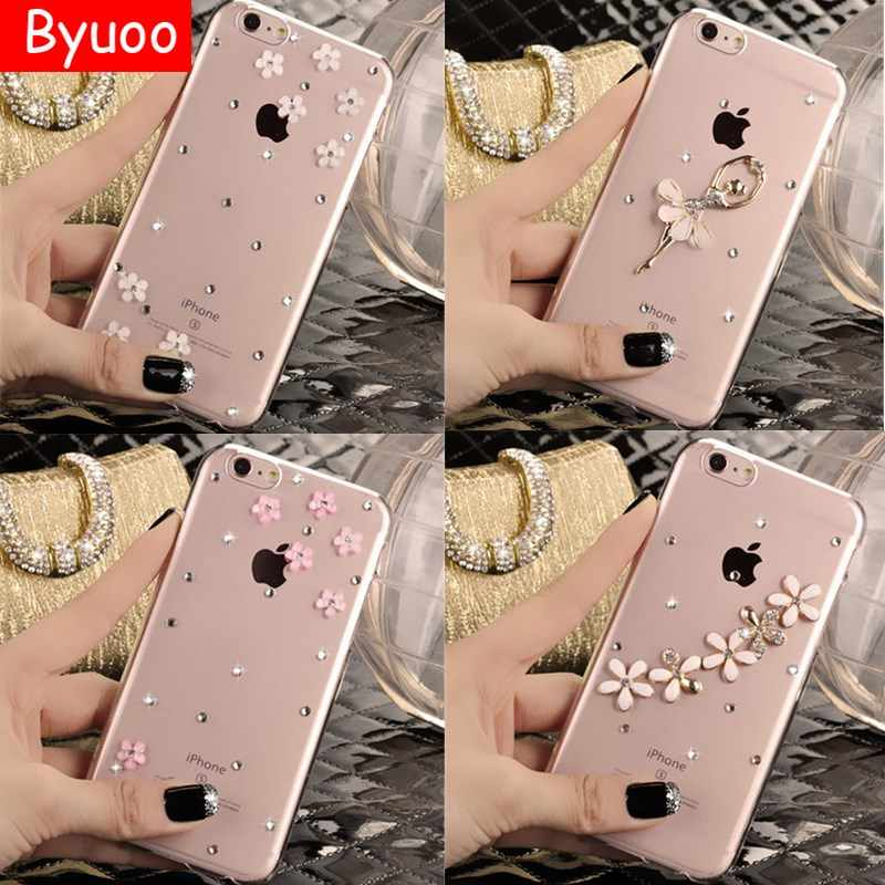 Para Iphone 5 5S Se 5c moda 3D Bling Crystal strass funda para Iphone 7 8 6 6 s Plus cubierta de diamante para Iphone X XS X MAX XR