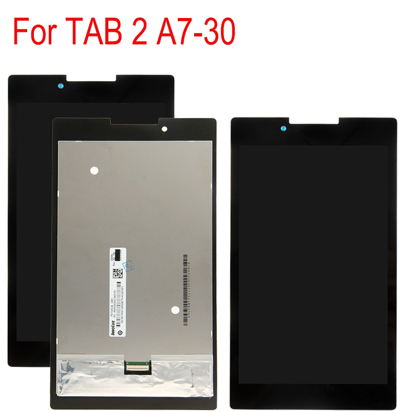 """7/""""For Lenovo Tab 2 A7-30 Tablet LCD Display Touch Screen Digitizer Assembly"""
