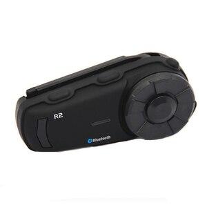 Image 3 - Mornystar R2 kask motocyklowy domofon bluetooth IPX6 wodoodporna 1200M motocykl bt interphone bezprzewodowy zestaw słuchawkowy z radiem FM