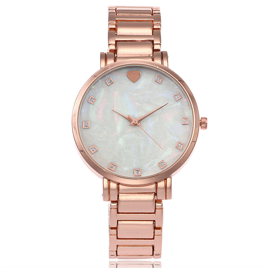 Hot Fashion Stainless Steel Women Rhinestone Wristwatches Mother of Pearl Dial Watch Luxury Quartz Watch Relogio Feminino 8 replacement spare parts blender juicer parts 4 rubber gear 4 plastic gear base for magic bullet 250w 38