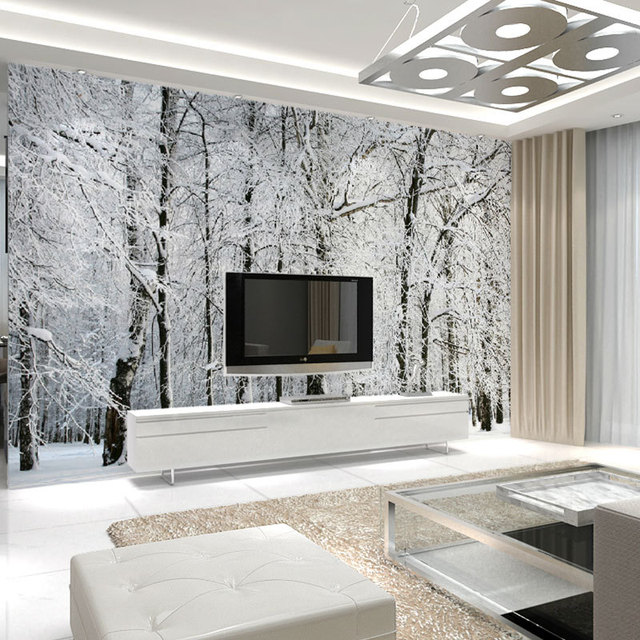 Buy large wall murals papel de parede for Mural vision tv