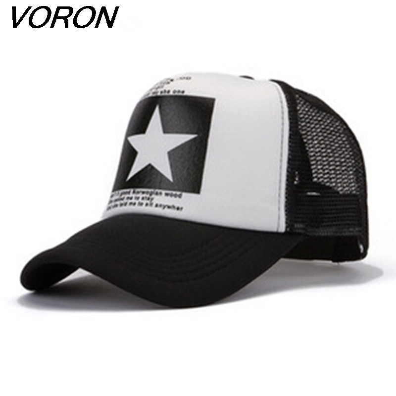 VORON Cap Hat Snapback-Caps Baseball Hiphop Gorras-Hat Autumn-Summer Women Super Big-Stars