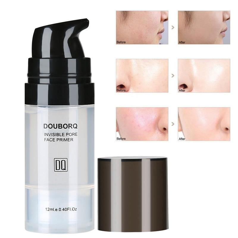 Makijaż baza pod podkład do twarzy naturalny matowy makijaż fundacja podkład pory niewidoczny przedłużyć olejek do twarzy kontrola kosmetyk 1