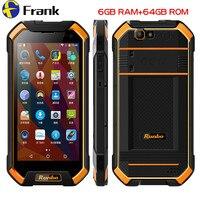 Original Runbo F1 Plus IP67 Waterproof Mobile Phone 6GB 64GB Android 7 0 Shockproof Cellphone NFC