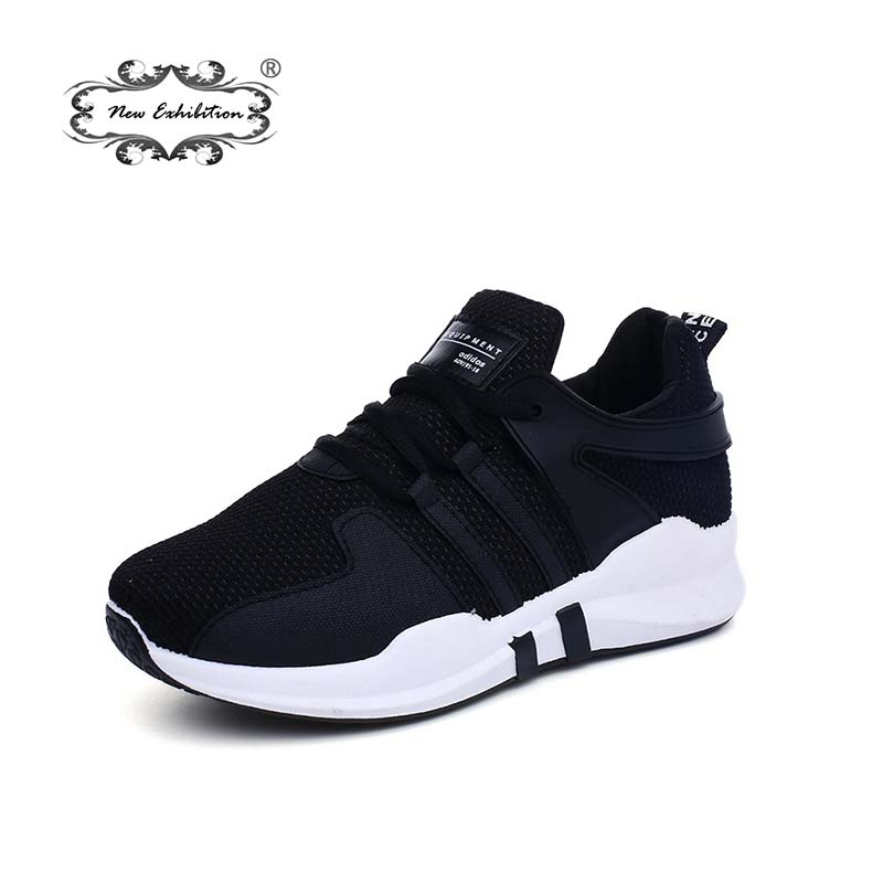 New exhibition woman fashion Breathable Net Surface sneakers Ladies Causal Shoes soft bottom Lace Up Women's Shoe tenis feminino