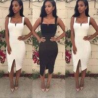 HIGH QUALITY New Fashion 2016 Celebrity Designer Dress Women S Sexy Spaghetti Strap Bodycon Bandage Dress