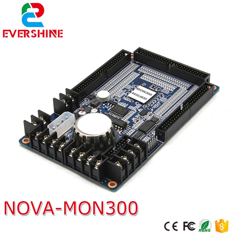 Nova MON300 Monitoring card Indoor outdoor fixing rental led display monitor card / outdoor led sign board monitor controller