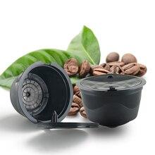 3 Unids Dolce gusto Café Cápsula Reutilizable, Compatibles Recargables Cápsulas Dolce gusto Café Cestas De Filtro De Plástico Con Una Cuchara
