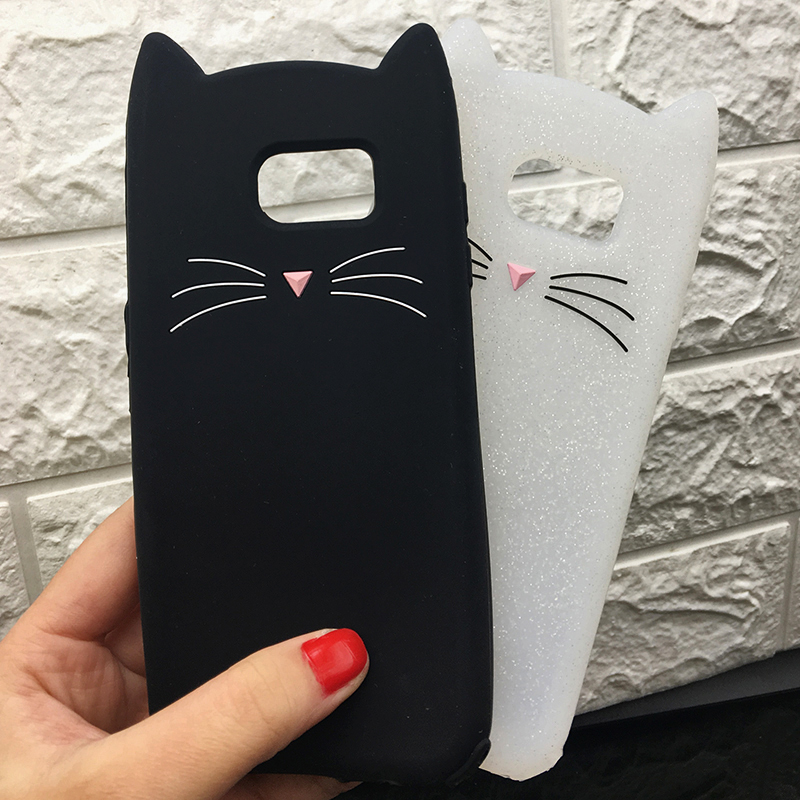 For Samsung J3 J5 2017 EU J7 pro 2017 Case Cute Cartoon Cat Cases 3D Silicone Soft Back Cover Funda For Galaxy J530 Phone Cases (14)
