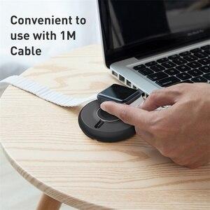 Image 2 - Baseus Qi chargeur sans fil Dock pour i Watch 4 3 2 1 chargeur magnétique Portable rapide sans fil chargeur pour Apple Watch Series