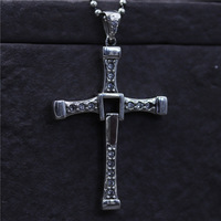 C&R Real 925 Sterling Silver Necklace Cross Pendant Fashion Men and women Pendants Thai silver Fine Jewelry