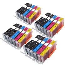 PGI 550 551 совместимый чернильный картридж для принтера canon принтерам PIXMA IP7250 MG5450 MX925 MG5550 MG6450 MG5650 MG6650 IX6850 MX725 MX925 принтер