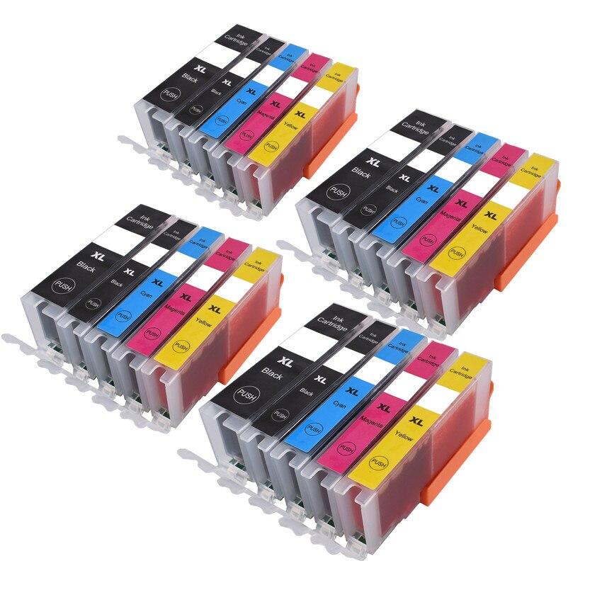Pgi 550 551 cartucho de tinta compatível para canon pixma ip7250 mg5450 mx925 mg5550 mg6450 mg5650 mg6650 ix6850 mx725 mx925 impressora