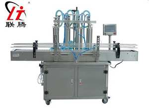 Shampoo-Filler Liquid-Filling-Machine Automatic Water-Juice with Conveyor Plc-Control