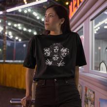 Queen Rock T-Shirt Bohemian Rhapsody T Shirt Oversized Short Sleeve Women tshirt White Street Wear O Neck Ladies Tee