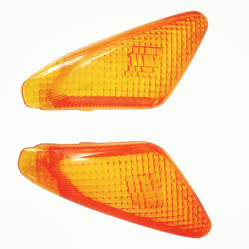 Motorcycle Accessories For YAMAHA  JOG50 JOG 3KJ Motorcycle Scooter Front Turn Signal Glass Cover Signal Light Cover