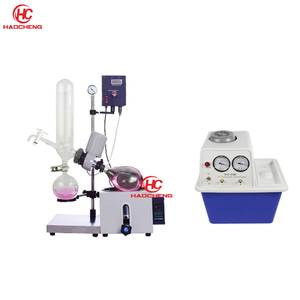 Free shipping,Factory Sale 1L 2L Manual Lift Rotary Evaporator with Vacuum Pump