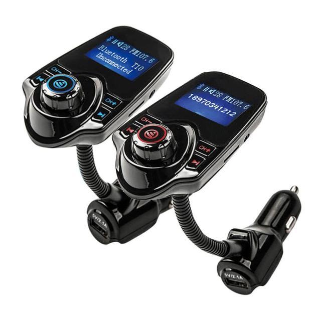 Buena Venta de Kit de Coche Manos Libres Inalámbrico Bluetooth Transmisor FM Reproductor de MP3 USB LCD Modulador de Noviembre 16