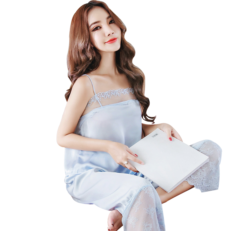 yomrzl A626 New arrival summer sexy womens pajama set 2 piece indoor clothes comfortable home style sleep set