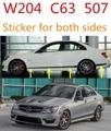 Adequado para C63AMG C63 W204 classe c-vinheta do corpo do carro ETIQUETA 507 AMG C180 C200 C220 C230