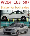 suitable for   C63AMG STICKER W204 c-class car body sticker C63 507 AMG  C180   C200 C220 C230