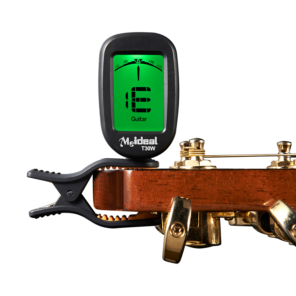 All in One Chromatic Clip on Tuner Guitar Bass Violin Ukulele Banjo Big LCD High Accuracy Clip-on Tuner New Arrival T30W handmade new solid maple wood brown acoustic violin violino 4 4 electric violin case bow included