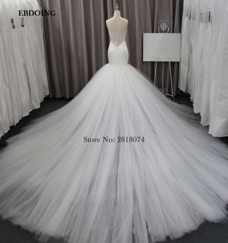 3258aba646ad1 Detail Feedback Questions about Charming White Mermaid Wedding Dress  Sweetheart Vestidos De Novia Custom Made Bride Gown on Aliexpress.com |  alibaba group