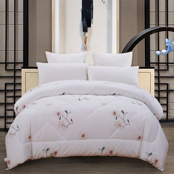 Twin/Queen/King Size 100%Cotton Warm Soft Winter Comforter Duvet Cover filler Throw Blanket Quilt sets For Kids Adults