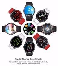 Voll Runde Android 5.1 Smartwatch Google Play Karte 3G WIFI Smart Uhr Pulsmesser Kamera Sim-karte Handyuhr PK D5 X3 X5