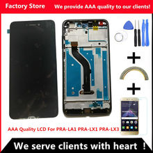 Q&Y QYJOY AAA Quality LCD+Frame For Honor 8 Lite Lcd Display Screen Replacement For PRA-LA1 PRA-LX1 PRA-LX3 Assembly(China)