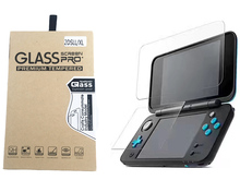 For Nintendo New 2DS XL/LL 2DSXL 2DSLL Console Protective Film Guard Premium HD Top & Bottom Tempered Glass Screen Protector