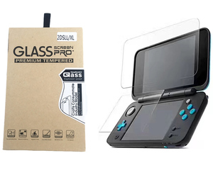 Película protectora Premium HD para Nintendo 2DS New XL/LL 2DSXL 2DSLL, Protector de pantalla de vidrio templado