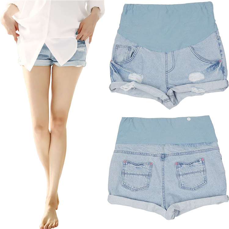 Popular Maternity Denim Shorts-Buy Cheap Maternity Denim Shorts ...