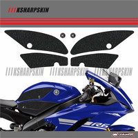 ADESIVI 3D Sticker Decal Emblem Protector Tank Pad Tank grip For YAMAHA 2017 2018 YZF R6
